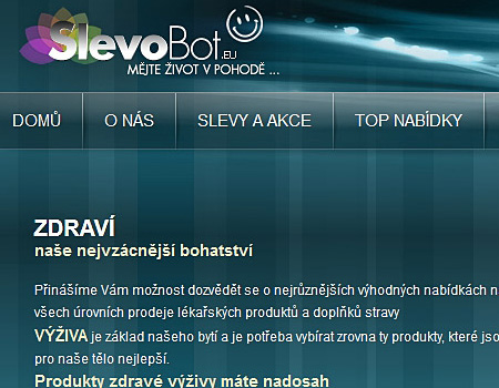 Slevobot.eu – slevový portál